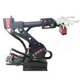 DIY 6DOF RC Robot Arm Braço robótico educacional com servo digital para / STM32/51 Chip