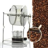 304 غير القابل للصدأ فولاذ كتيب قهوة تحميص فول آلة تحميص رولر بيكر مطبخ تحميص أداة