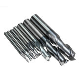 2-12mm Solid Carbide Milling Cutter 2 Flute Slot Drills 2/3/4/6/8/10/12mm Milling Cutter CNC Tool