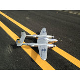 MD P38 1200mm Wingspan EPO RC Airplane Lockheed P-38 Lighting Zoom Aircraft PNP Fixed Wing