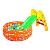 Niemowlę składane Małe śliskie przesuwane w górę iw dół, jak składane pojedyncze ślizgające się ślizgające się zabawki
