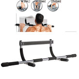 Portable Sit-ups Workout Bar Home Door Pull Up Horizontal Bar Gym Fitness Exercise Tools