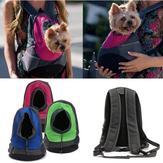 Köpek Taşıyıcı Kedi Köpek Mesh Pet Seyahat Çanta Sırt Çantası Çift Taşınabilir Omuz Çanta