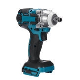 18V Cordless Brushless Impact Wrench Obeng Stepless Speed Change Switch Diadaptasi Untuk baterai Makita 18V