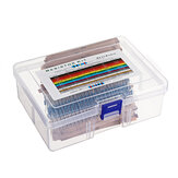 1460pcs 76 Kinds 1R-1M Value 5% 1/4W Metal Film Resistor Assorted Kit  20pcs Each Value with Plastic Case