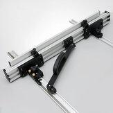 800/1000mm Aluminiumlegierung Elektrische Kreissäge Flip-Zaun-Set / 2 Stück Halterung Holzbearbeitungswerkzeug