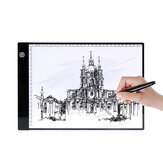 A4 LED Light Pad Drawing Tablet Digital Graphics Pad Three-level Dimming USB LED Light Box Table Tracing Drawing Board Pad