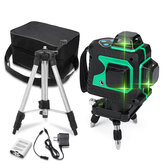 3D Grün Auto Laser Level 12 Linien 360 ° Horizontal & Vertikal Cross Build Tool Messwerkzeuge