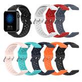 Bracelet de remplacement de bande de montre intelligente en Silicone Stomatal Bakeey 18mm pour montre intelligente Xiaomi Non original