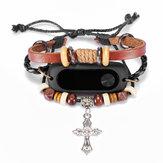 Beading pulseira pulseira de substituição para xiaomi Mi Banda 2 pulseira inteligente