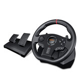 PXN V900 Game Steering Wheel for PS3 NS Switch Gaming Controller for PC USB Vibration Dual Motor with Foldable Peda