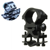 25-30mm verstelbare tactische zaklamp Holster Scope Ring Mount Torch Clip Clamp voor fietsen vissen jacht