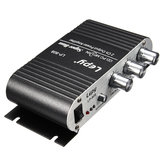 Lepy LP-808 12V Mini Car Motorcycle Home Hi-Fi Stereo Amplifier Amp Audio For Speaker DVD CD