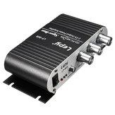 Lepy LP-808 12V Mini Coche Moto Hogar Hi-Fi Audio estéreo de Amplificador Amp para altavoz DVD CD
