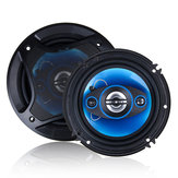 1Pair 6/6.5 Inch Car Coaxial Auto Music Stereo Full Range Frequency Hifi Speaker Non-destructive Installation