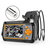 Bakeey AGC-430 Industrial Borescope Camera 14.5MM 1080P FHD Atuo Focus Inspection Camera 6LED IP67 2600mAh Flexible Hard Line 1/5/10/20M with 4.3 Inch LCD Screen