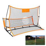 1.8 / 2.1M Soccer Rebounder Net Портативное складное футбольное снаряжение для стрельбы по воротам На открытом воздухе Sport