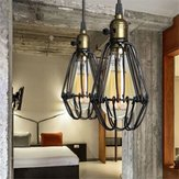 Industrial Retro Vintage Kitchen Bar Shop Black Pendant Light Ceiling Hanging Lampshade Fixture