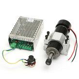 Motordoeixode110-220V500W com regulador de velocidade e 52mm braçadeira para a máquina do CNC