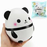Squishy Panda Puppe Ei Jumbo 14cm Langsam steigen mit Verpackung Sammlung Geschenk Dekor Soft Squeeze Spielzeug