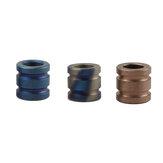 XANES® 10 mm de hauteur en alliage de titane TC4 couteau perles corde corde EDC Paracord perle Camping couteau pendentifs