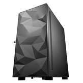 DarkFlash DLM21 Gaming Computer Case ATX/M-ATX/ITX Supported Tempered Glass Door Opening Air Inlet Black