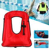 Gilet de sauvetage portatif de gonflage pour adultes Gilet de bain portatif pour la sécurité de plongée en apnée
