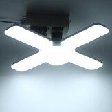 B22 / E27 Deformable 4 + 1 LED Bombilla de luz de garaje Lámpara de techo Hogar Tienda Taller Lámpara