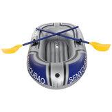Singel Kişi PVC Şişme Bot Filika Balıkçılık Kürek Bot Alüminyum Kürekler ve Hava ile Sufing Sürükleme için Pompa