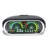 9 V-36 V 12 V 24 V LCD Motore Digitale Olio Misuratore della Temperatura dell'Acqua Calibro 2in1 Per Barca Car Truck Racing Universale