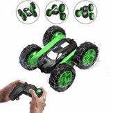 Eachine EC02 RC Stunt Авто Игрушка 2,4G 4WD Двусторонний 360 ° Вращающийся на 360 ° Сальто и вращение Модели радиоуправляемых машин