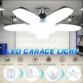 E27 / B22 Deformável LED Garagem Lâmpada 80W SMD2835 Luminária de teto Casa Oficina Lâmpada 85-265V / 220V