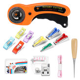 1/12/13Pcs Fabric Bias Tape Maker Rotary Cutter Kit Sewing Quilting Awl Pin Binder Foot Tools Set