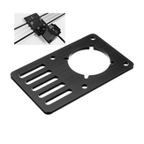 Machfit Aluminium Nema 23 Stepper Motor Mount Plate for V-slot Aluminium Extrusions الملف الشخصي CNC Parts