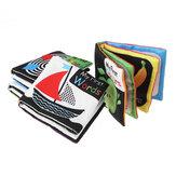 4 упаковки звуковая бумага, английская тканевая книга, черно-белая книга просветления, слова, цвета, формы, числа, головоломка для раннего о