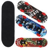 43cm Kids Skateboard 7 Layer Maple Wood Adult Tricks Longboard for Beginner Gift