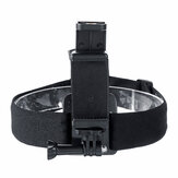 Original              Non-Slip Elastic Head Strap Adjustable Camera Mount Headlight Headband Fit 4-6.8-inch Phone Outdoor Cycling Running