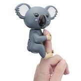 Cute Interactive Baby Fingers Koala Smart Colorful Induction Eletrônica Eletrônica brinquedo para crianças presente
