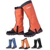 TUBAN ضد للماء أحذية التزلج الجراميق غطاء حذاء قابل للتعديل التخييم التنزه التمهيد التزلج غطاء الثلج للصيد الرحلات وتسلق التسلق