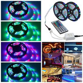3M 5M 10M 3528 SMD RGB LED Jalur Cahaya Non-waterproof String Tape Kit + 44 Tombol IR Remote Control
