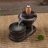 Supporto per bruciatore a cono di incenso a riflusso