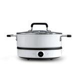 ZHIWU GJT02CM Антипригарная кастрюля 4L Посудомоечная машина Безопасный алюминиевый суп для посуды для индукционной плиты