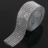 Hochzeit Diamant Mesh Roll Sparkle Strass Kristalle Ribbon Decor