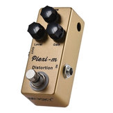 MOSKY Plexi-m Distortion Electric Guitar Effects Pedal Full Metal Shell True Bypass