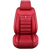 1PC Universal Car SUV Front Seat Cover PU Leather Full Surround Protector