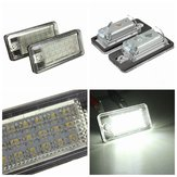 18 LED-licentie nummerplaat lamp voor Audi A3 A4 A6 A8 B6 B7 S3 Q7 RS4 RS6