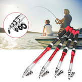 Fishing Rod Portable Sea Spinning Pole Portable Ultralight Fiber Telescopic Fishing Tools