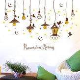 Creative Chandelier Self - Adhesive Wallpaper Stickers Living Room Bedroom