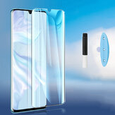 Bakeey HD Clear UV Liquid Full Glue Cover Curved Anti-Explosion Soft Tempered Glass Screen Protector for Xiaomi Mi Note 10 Lite