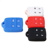 4 Button Silicone Remote Key Case Shell Cover For Ford Edge Explorer